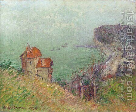 Fecamp by Gustave Loiseau - Reproduction Oil Painting