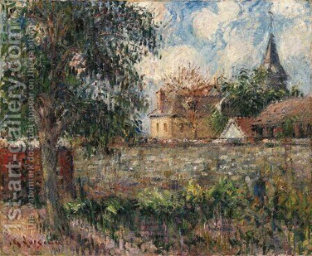 Paysage en Normandie by Gustave Loiseau - Reproduction Oil Painting