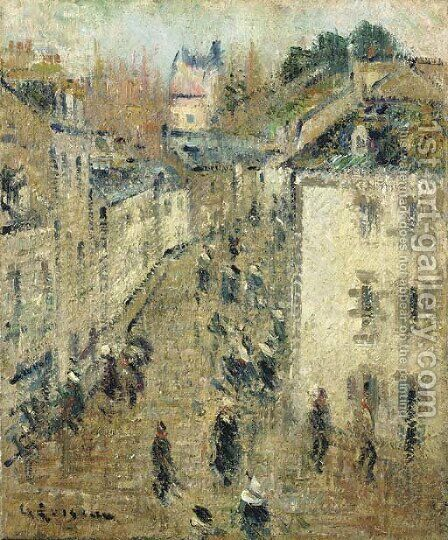 Rue a Pont-Aven by Gustave Loiseau - Reproduction Oil Painting