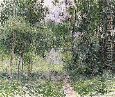 Sous bois by Gustave Loiseau - Reproduction Oil Painting