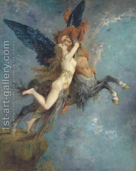 La Chimere by Gustave Moreau - Reproduction Oil Painting