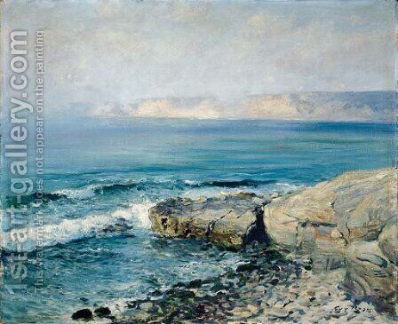 Incoming Fog, La Jolla by Guy Rose - Reproduction Oil Painting