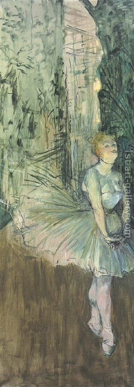 Danseuse by Toulouse-Lautrec - Reproduction Oil Painting