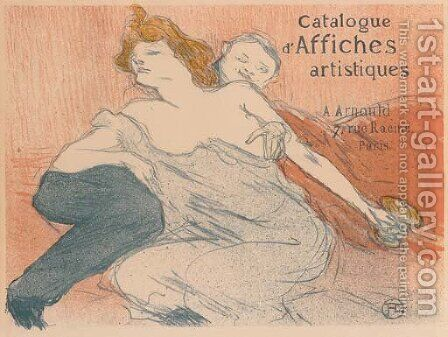 Debauche (deuxieme Planche) by Toulouse-Lautrec - Reproduction Oil Painting