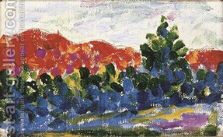 Paysage 2 by Henri Edmond Cross - Reproduction Oil Painting