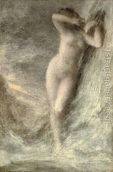 Andromede by Ignace Henri Jean Fantin-Latour - Reproduction Oil Painting