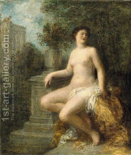 Bathsabee by Ignace Henri Jean Fantin-Latour - Reproduction Oil Painting