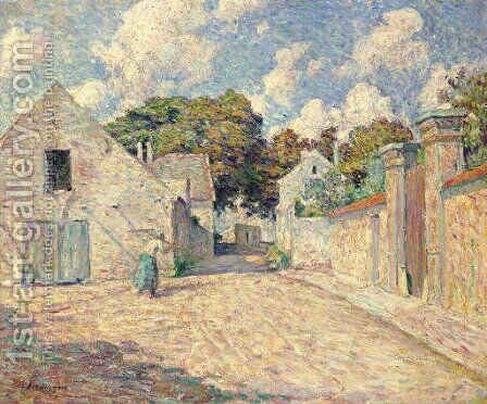 Entree du village by Henri Lebasque - Reproduction Oil Painting