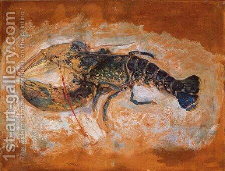 L'homard by Henri Lebasque - Reproduction Oil Painting