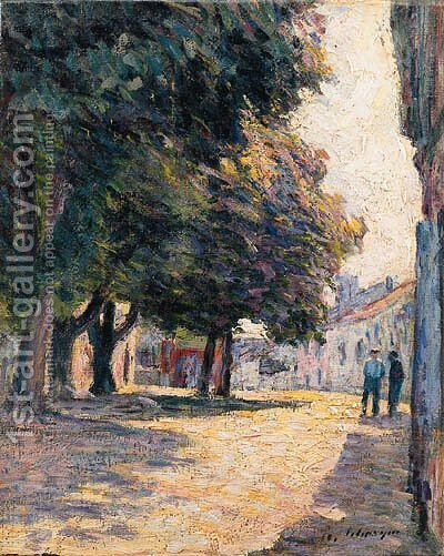 Saint-Paul de Vence by Henri Lebasque - Reproduction Oil Painting