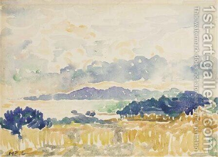 Nuages sur Le Lavandou by Henri Edmond Cross - Reproduction Oil Painting