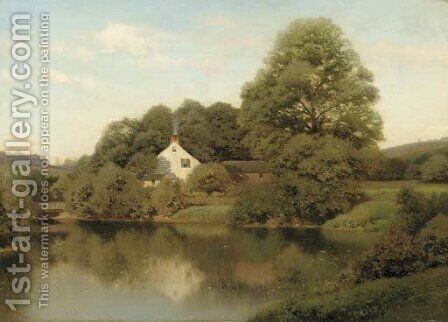 Early Summer at East Lyme, Connecticut by Henry Pember Smith - Reproduction Oil Painting