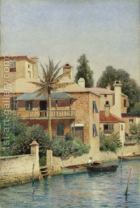 Morning at Hamilton--Bermuda by Henry Pember Smith - Reproduction Oil Painting