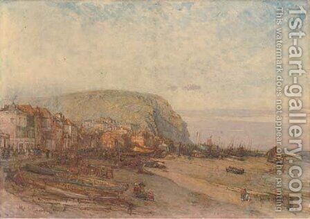 Hastings by Henry Robert Robertson - Reproduction Oil Painting