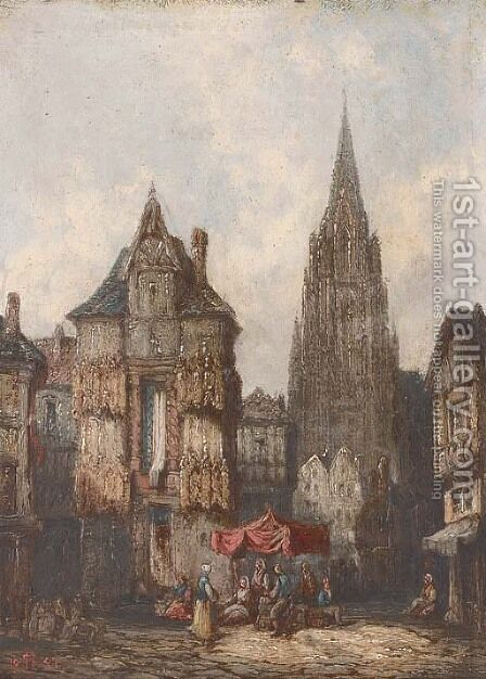 Nuremberg, Germany by Henry Thomas Schafer - Reproduction Oil Painting