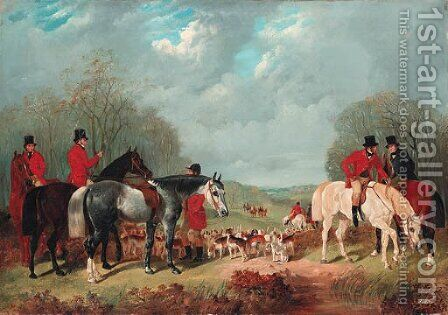 The Meet by Henry Woollett - Reproduction Oil Painting
