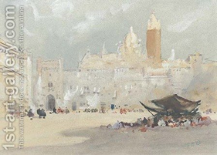 Saragossa, Spain by Hercules Brabazon Brabazon - Reproduction Oil Painting