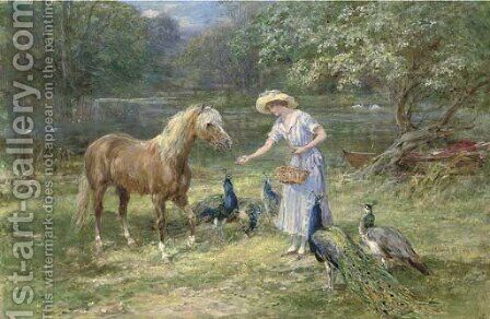 The favourite by Heywood Hardy - Reproduction Oil Painting