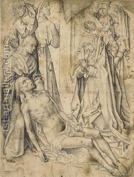 The Lamentation of Christ by Hugo Van Der Goes - Reproduction Oil Painting