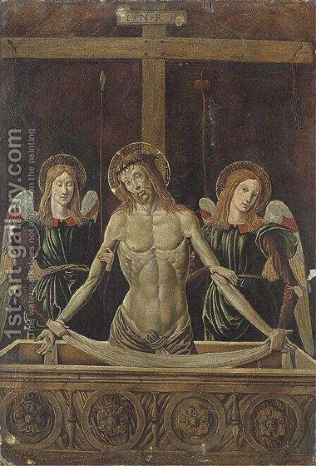 The Resurrection by Italian School - Reproduction Oil Painting