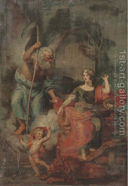 An allegory of summer 2 by Italian School - Reproduction Oil Painting