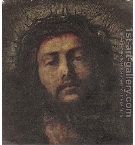 Ecce Homo 2 by Italian School - Reproduction Oil Painting