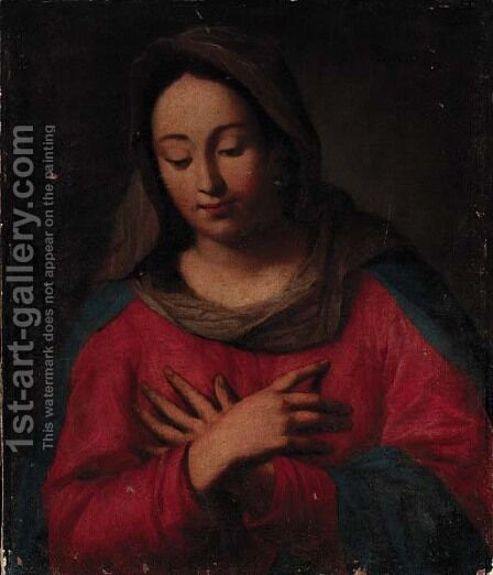 The Madonna by Italian School - Reproduction Oil Painting