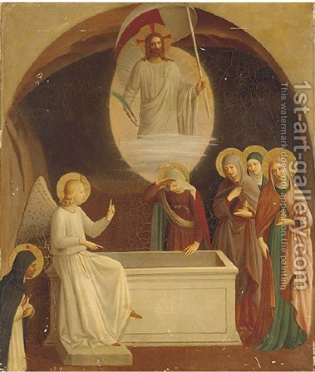 The resurrection 2 by Italian School - Reproduction Oil Painting