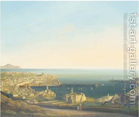 Genoa by Italian School - Reproduction Oil Painting