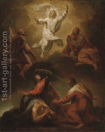 The Transfiguration of Christ by Italian School - Reproduction Oil Painting