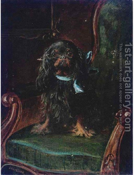 The lord of the manor by James Clarke Waite - Reproduction Oil Painting