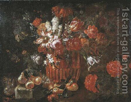 Tulips by Jacobus Melchior van Herck - Reproduction Oil Painting