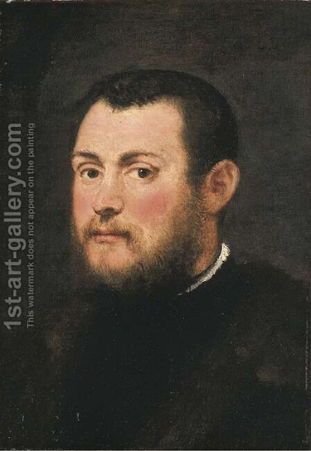 Portrait of a Gentleman by Jacopo Tintoretto (Robusti) - Reproduction Oil Painting