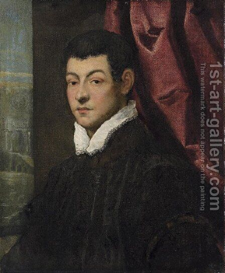Portrait of a gentleman 3 by Jacopo Tintoretto (Robusti) - Reproduction Oil Painting