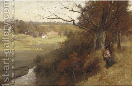 Crammond, near Edinburgh by James Cadenhead - Reproduction Oil Painting