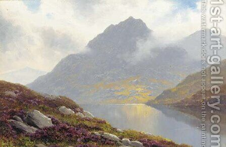 Loch Lyne, Scotland by James Millar - Reproduction Oil Painting