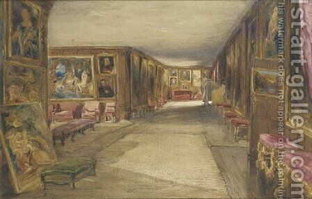 The Leicester Gallery, Knole by James Holland - Reproduction Oil Painting
