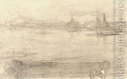 Early Morning by James Abbott McNeill Whistler - Reproduction Oil Painting