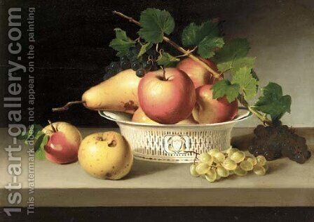 Fruits of Autumn by James Peale - Reproduction Oil Painting