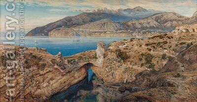 Capo di Sorrento by James Talmage White - Reproduction Oil Painting
