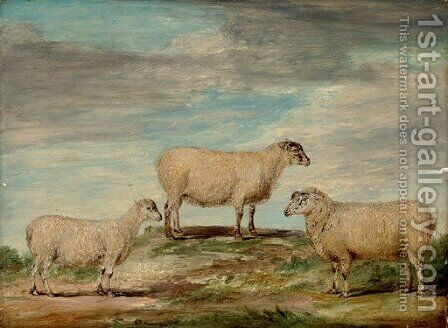 Elman's South Down Ram by James Ward - Reproduction Oil Painting