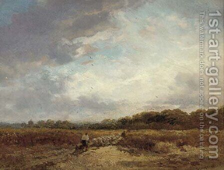 Alderton, Suffolk by James Webb - Reproduction Oil Painting