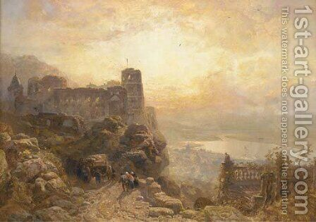 Heidelberg by James Webb - Reproduction Oil Painting