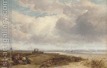 Iken, Suffolk by James Webb - Reproduction Oil Painting