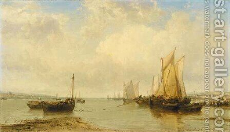 Near Cowes, the Isle of Wight by James Webb - Reproduction Oil Painting