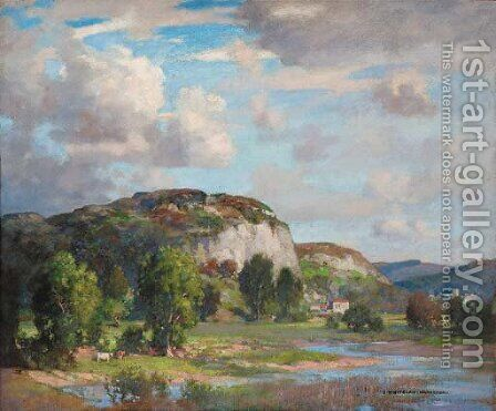 Wharfdale by James Whitelaw Hamilton - Reproduction Oil Painting