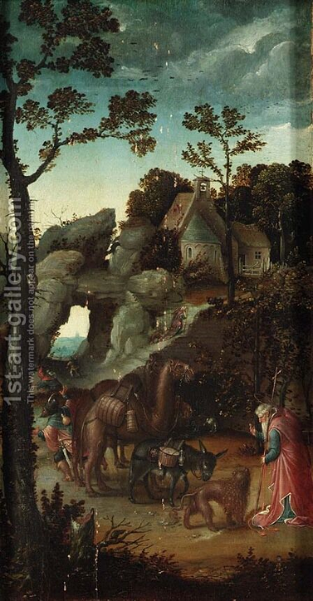 The Legend of Saint Jerome and the Animals by Jan Wellens de Cock - Reproduction Oil Painting