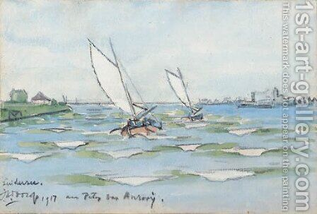 Zuiderzee by Jan Toorop - Reproduction Oil Painting