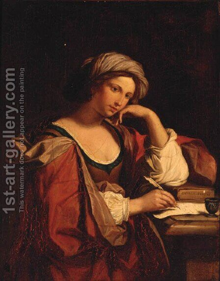 Sybils by (after) Domenichino (Domenico Zampieri) - Reproduction Oil Painting