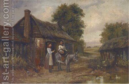 Off to market by (after) Georgina Lara - Reproduction Oil Painting